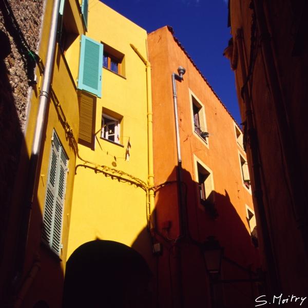 Menton, ruelle de la vieille ville